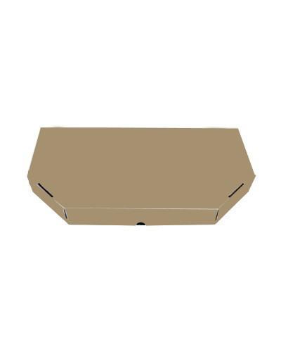 Коробка для хачапури (бурая) 300*170*40