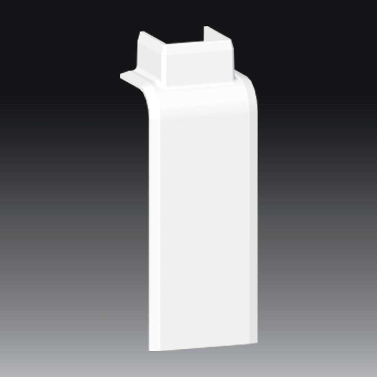 Перехідник з LP 80x25 на LHD 20x20 білого кольору; ПВХ