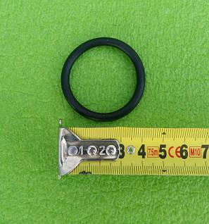 """Резиновый уплотнитель-прокладка резиновая круглая на резьбовой тэн 1 1/4"""", фото 2"""
