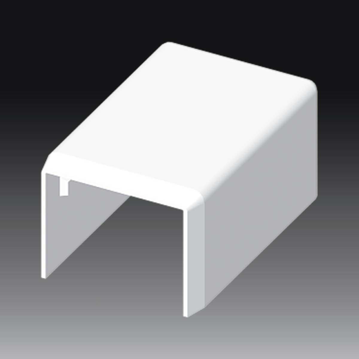 Заглушка для LHD 25х20 білого кольору; Серія LHD; ПВХ