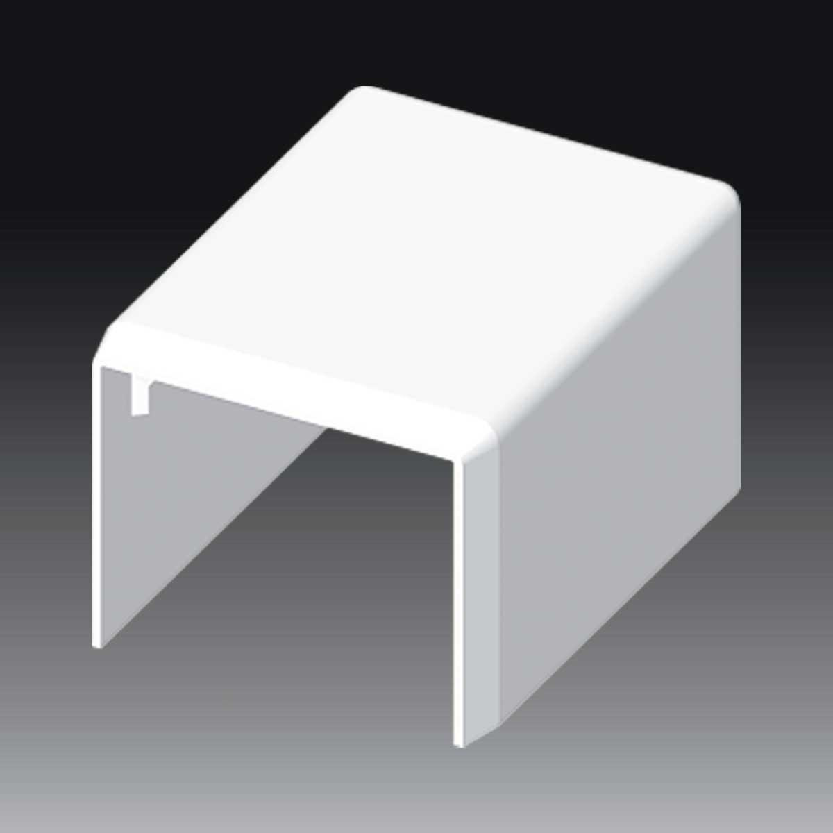 Заглушка для LHD 30х25 білого кольору; Серія LHD; ПВХ