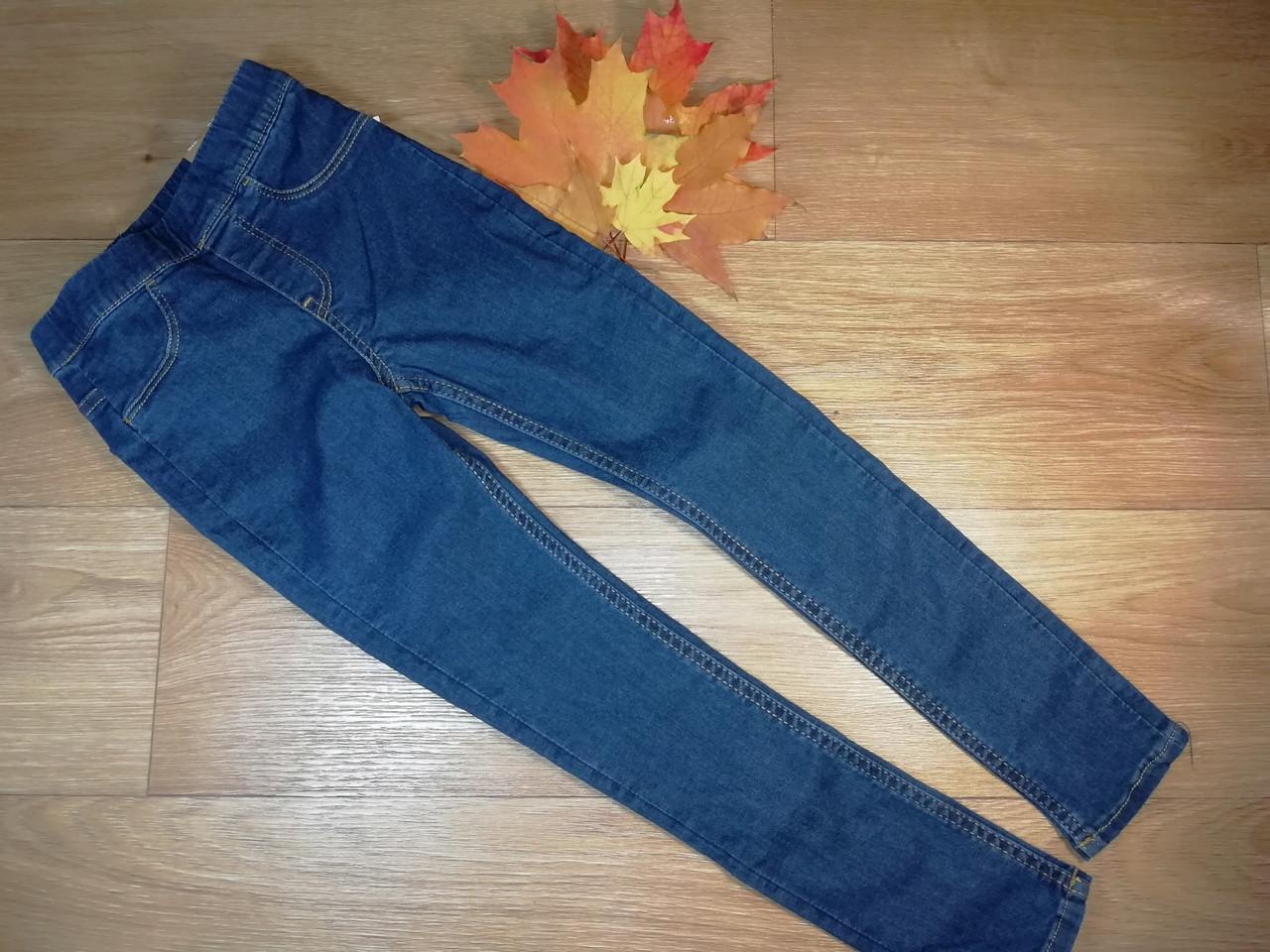 Стильные стрейчевые джинсы скинни H&M (США)  (Размер 6-7Т)