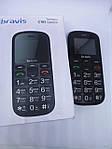 Мобильный телефон BRAVIS C181 Бабушкофон + 800 мАч + 2 Sim + Bluetooth v 2.1 Гарантия!, фото 3