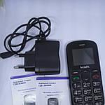 Мобильный телефон BRAVIS C181 Бабушкофон + 800 мАч + 2 Sim + Bluetooth v 2.1 Гарантия!, фото 4