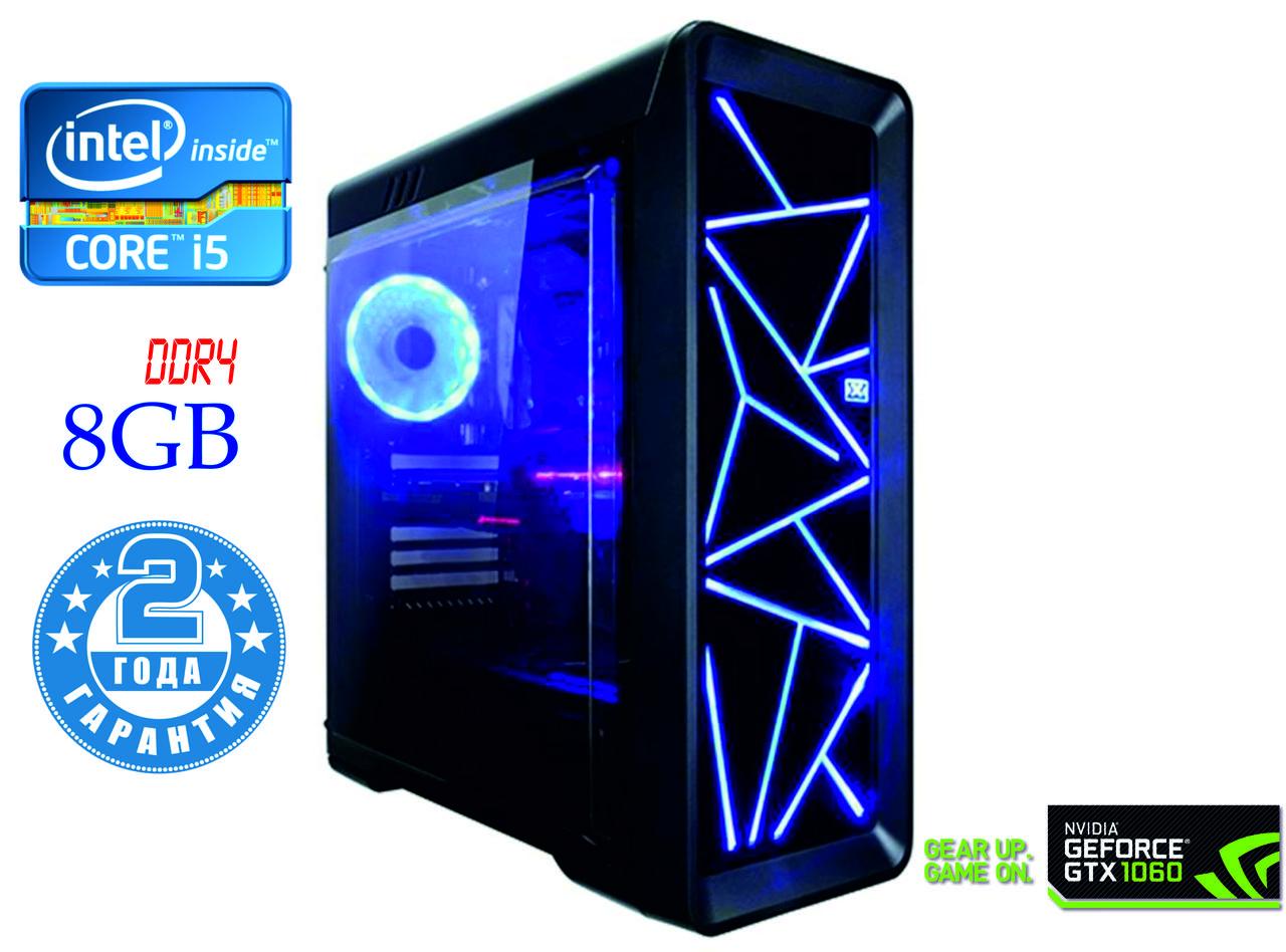 Игровой компьютер NG i5-8400 G2 / i5-8400 / DDR4-8Gb / HDD-500Gb / GeForce GTX1060