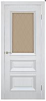 Двери межкомнатные САН МАРКО 1.2 стекло бронза  ПВХ Омис