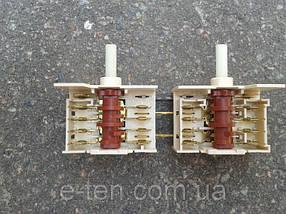 Переключатель режимов двойной семипозиционный 5HE / 571 для электроплит, электродуховок   DREEFS, Италия, фото 3