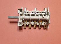 Переключатель ПМ 039 (5HT 039) семипозиционный для электроплит        Италия, фото 2