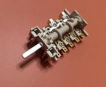 Переключатель ПМ 039 (5HT 039) семипозиционный для электроплит        Италия, фото 3