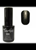 Гель-лак Tertio №54 черный с мелкими блестками 10 мл