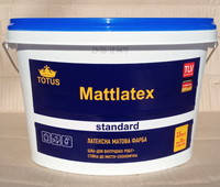 Краска латексная TOTUS Mattlatex Standart