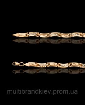 Золотой браслет Роликсы 38