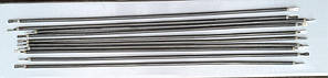 Тэн гибкий прямой (воздушный) Ø6,5мм / 1300W / длина L= 160см из нержавейки      Sanal, Турция, фото 2