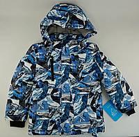 6c6ed09bba6 Куртка зимняя для мальчиков Модель Альпы Голубой Baby Line Украина 8 лет