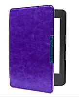 """Обложка - чехол для электронной книги Amazon Kindle Paperwhite 1, 2, 3 E-reader 6"""" Фиолетовый"""