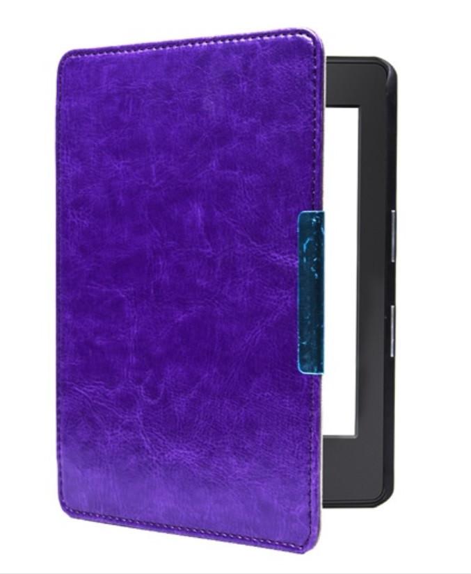 """Обложка - чехол для электронной книги Amazon Kindle Paperwhite 1, 2 E-reader 6"""" Фиолетовый"""