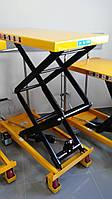 Cтол гидравлический высокоподъемный мобильный LPT350P, грузоподъемность 350 кг, высота подъема 1400 мм, фото 1