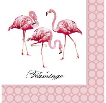 Салфетки Фламинго 10 шт