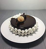 Блюдо фарфоровое круглое Lubiana Hotel 310мм, фото 1