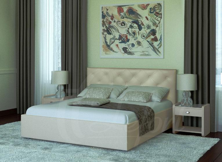 Кровать  Анжели (с подъем. механизмом) (ассортимент размеров)