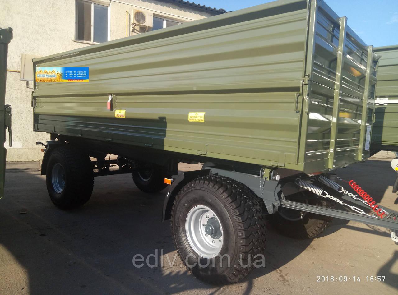 Прицеп тракторный самосвальный 2тсп-14