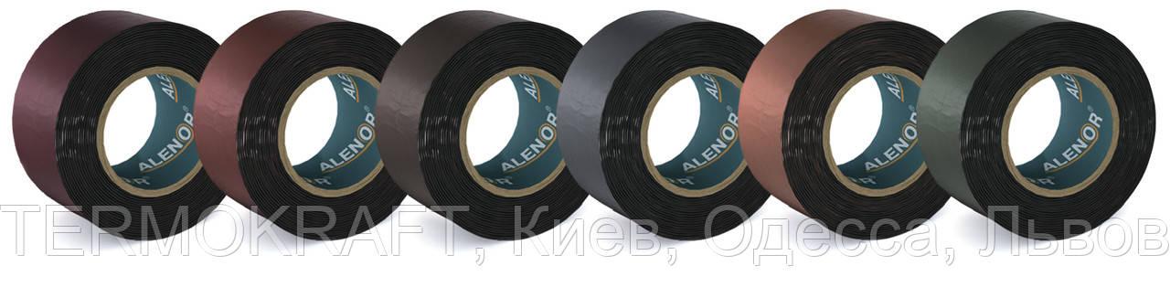 Кровельная герметизирующая лента Alenor® BF бордовая 150 мм (10м)