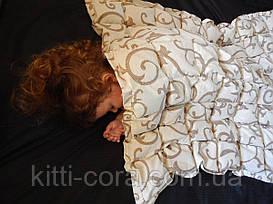Детское утяжеленное одеяло с гречневой шелухой (лузгой). Размер 110 х 140 см