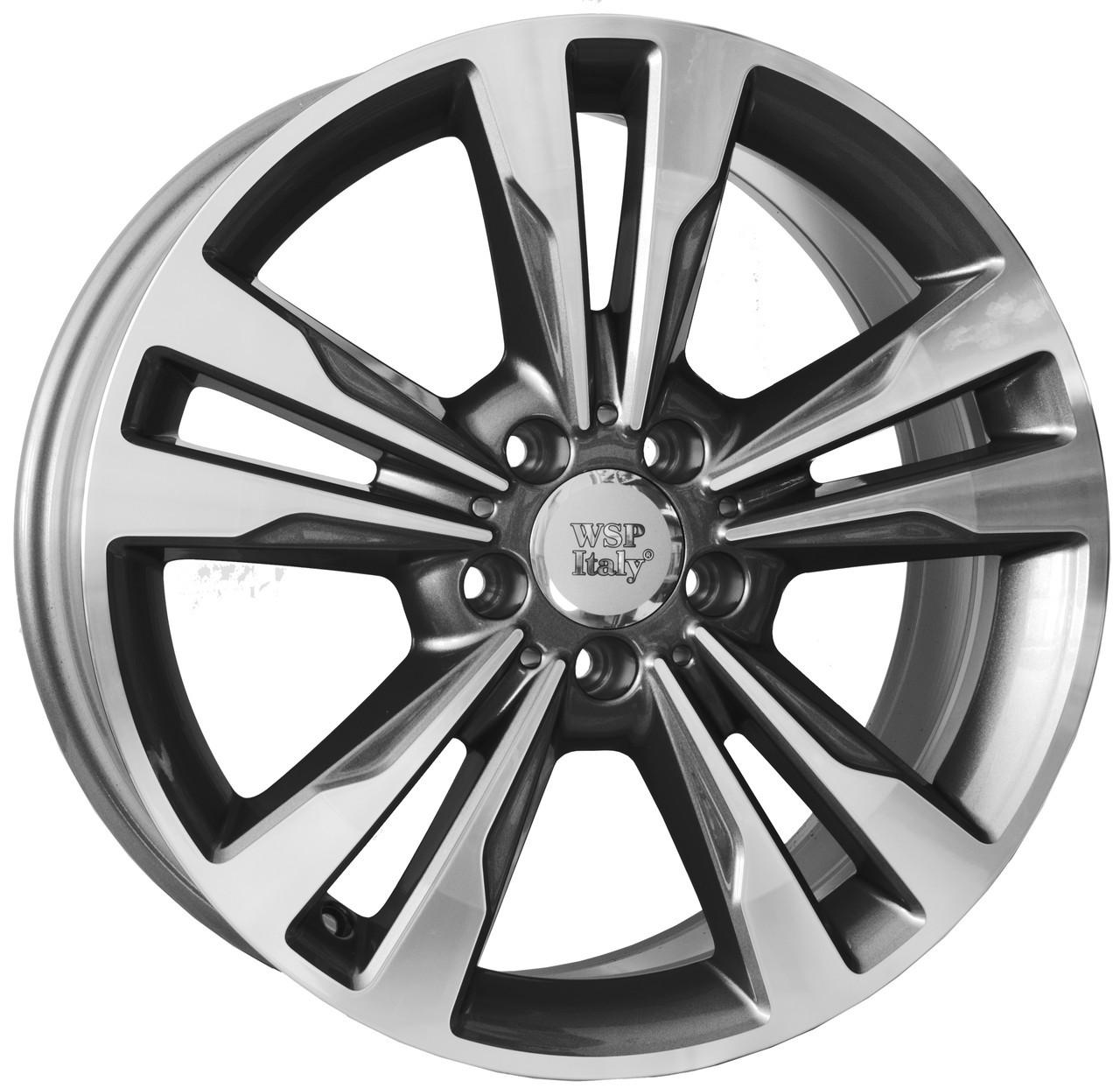 17х7,5     5/112/45/66,6   WSP Italy Mercedes (W772) Apollo (anthracite polished)