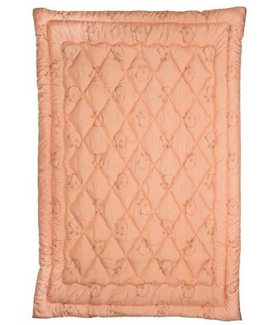 Одеяло Руно шерстяное двуспальное 172x205 см Комфорт плюс 300г/м.кв (316.52ШК+У), фото 2