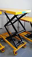 Cтол гидравлический высокоподъемный мобильный LPT800, грузоподъемность 800 кг, высота подъема 1500 мм, фото 1