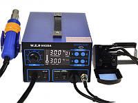 Термоповітряна паяльна станція W.E.P 992DA, фото 1