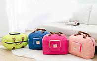 Спортивная, городская сумка-трансформер. Розовая