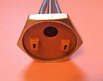 "Тэн для чугунной батареи 1000 W (нержавейка) с резьбой 1 1/4"" (дюйм с четвертью)       Турция, фото 2"