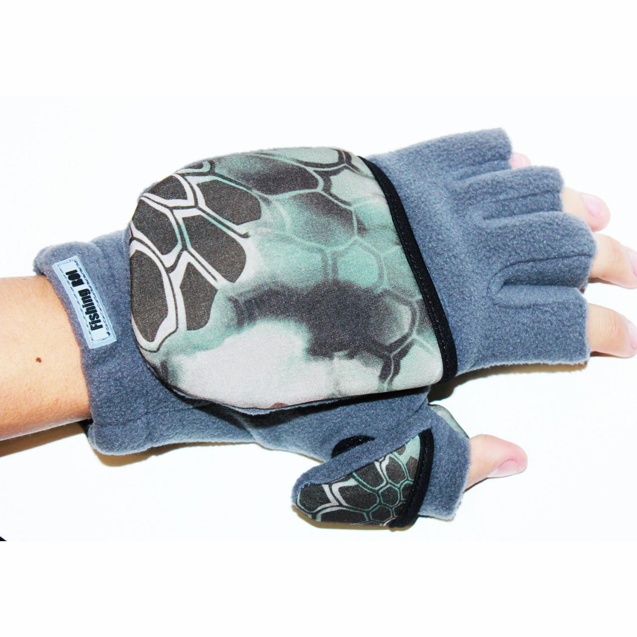 """Рукавички-рукавиці для полювання та риболовлі """"Рептилія"""""""