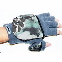 """Рукавички-рукавиці для полювання та риболовлі """"Рептилія"""", фото 1"""
