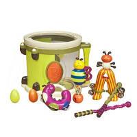 Музыкальная игрушка ПАРАМ-ПАМ-ПАМ Барабан с инструментами Battat BX1007Z
