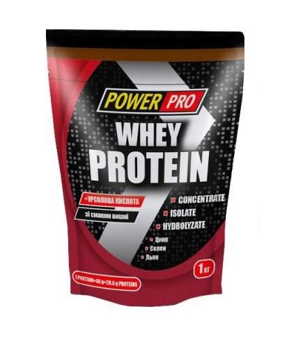 Сывороточный протеин Power Pro - Whey Protein (1000 грамм) cherry/вишня
