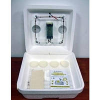 Инкубатор с ручным переворотом Весёлое семейство Инкубатор бытовой 2-Т, 80 яиц (ручной переворот)