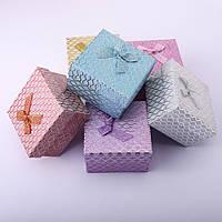 "Коробочки подарочная ""подушка"" 6шт\уп.. 9\9\5,5см"