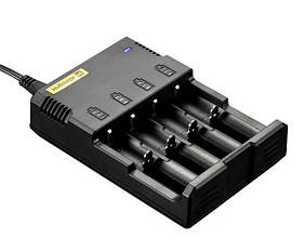 Зарядное устройство Nitecore Sysmax Intellicharger i4 v2 (качество)