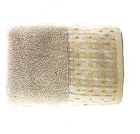 Полотенце махровое 70х140 Hobby MARSEL 560 г/м2 св.коричневый