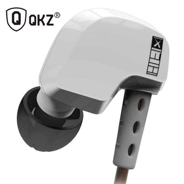 Наушники QKZ DM200  - 100% оригинал! Белый
