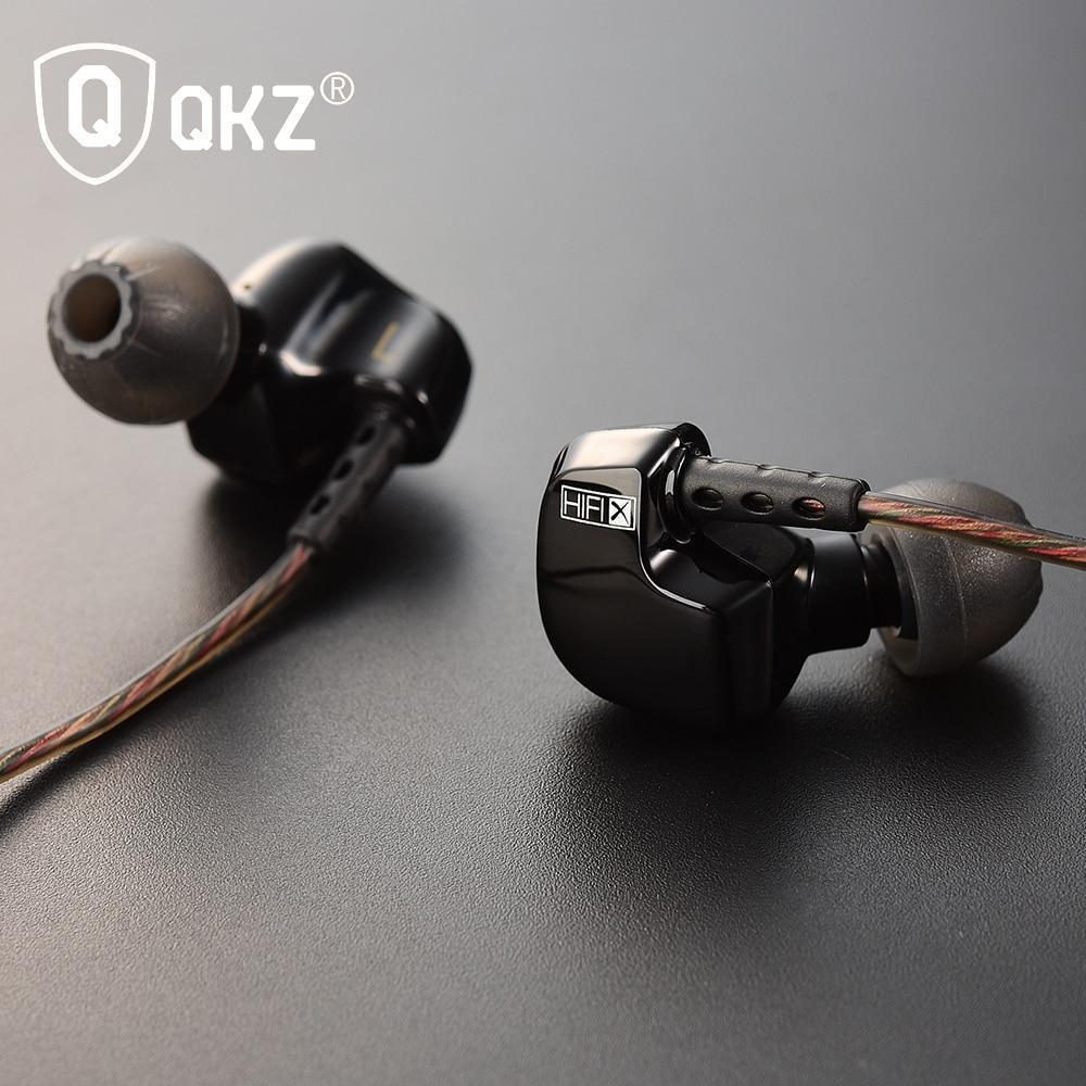 Наушники QKZ DM200  – стильные, с хорошим звучанием! Чёрный