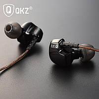 Наушники QKZ DM200  – стильные, с хорошим звучанием! Чёрный, фото 1