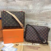 Женская стильная сумка через плечо Louis Vuitton, фото 1