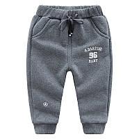Спортивные утепленные зимние штаны 7446205-2, код (39823) в наличии: 100см,120см,130см,140см,110см