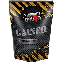 Гейнер Strong Fit Brutto - Gainer (909 грамм) 909 г, chocolate/шоколад, Украина, порошок