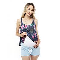 Шорты для беременных — голубые 2502821886e