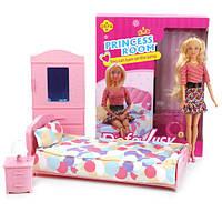 Набор кукла с мебелью спальня Defa 8378, фото 1
