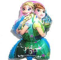 Фольгированный фигурный шар Эльза две сестры
